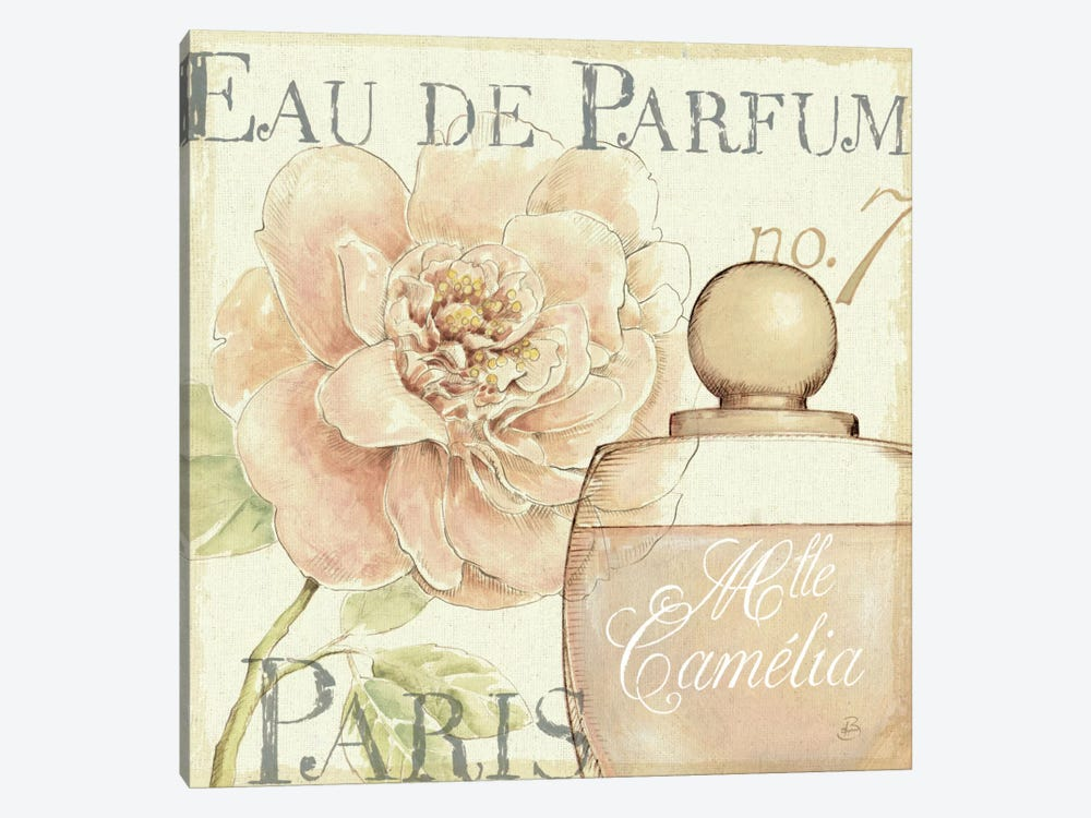 Fleurs and Parfum II by Daphne Brissonnet 1-piece Canvas Print