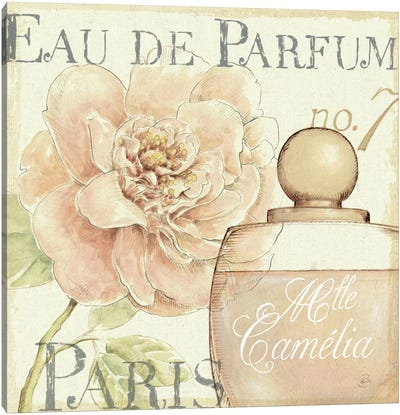 Fleurs and Parfum II Canvas Art Print