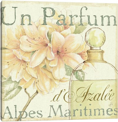 Fleurs and Parfum III Canvas Art Print
