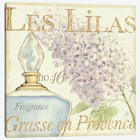 Fleurs and Parfum IV Canvas Print #WAC293} by Daphne Brissonnet Canvas Art Print