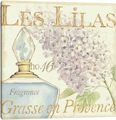Fleurs and Parfum IV Canvas Art Print
