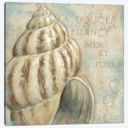 A La Plage I Canvas Print #WAC294} by Daphne Brissonnet Canvas Art