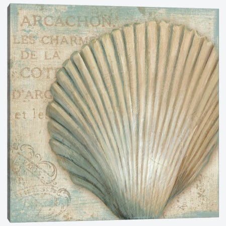 A La Plage IV Canvas Print #WAC297} by Daphne Brissonnet Canvas Artwork