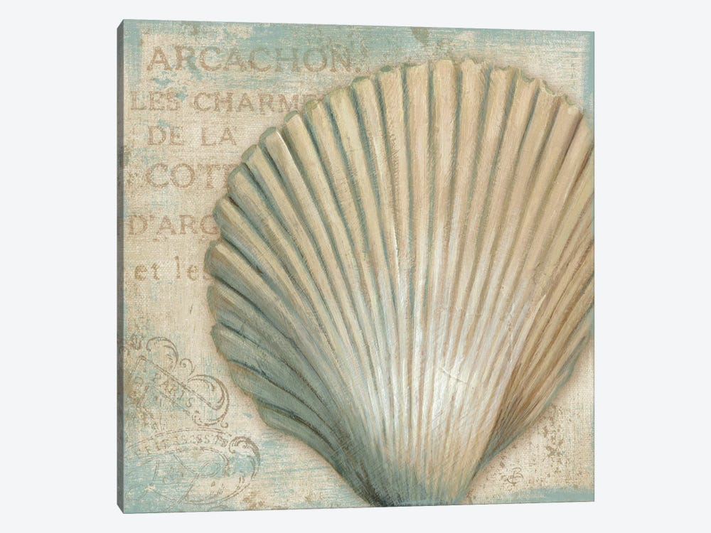 A La Plage IV by Daphne Brissonnet 1-piece Canvas Art Print