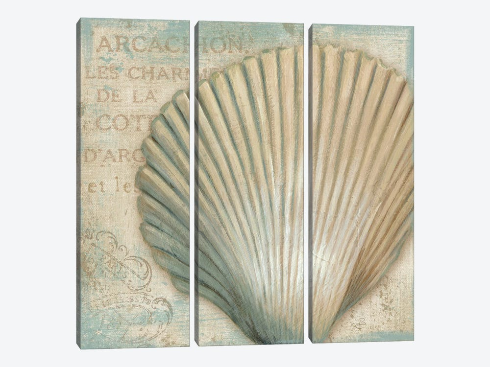 A La Plage IV by Daphne Brissonnet 3-piece Canvas Print