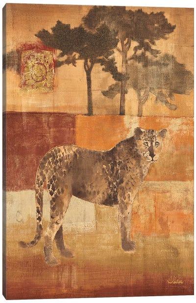 Animals on Safari III Canvas Print #WAC29