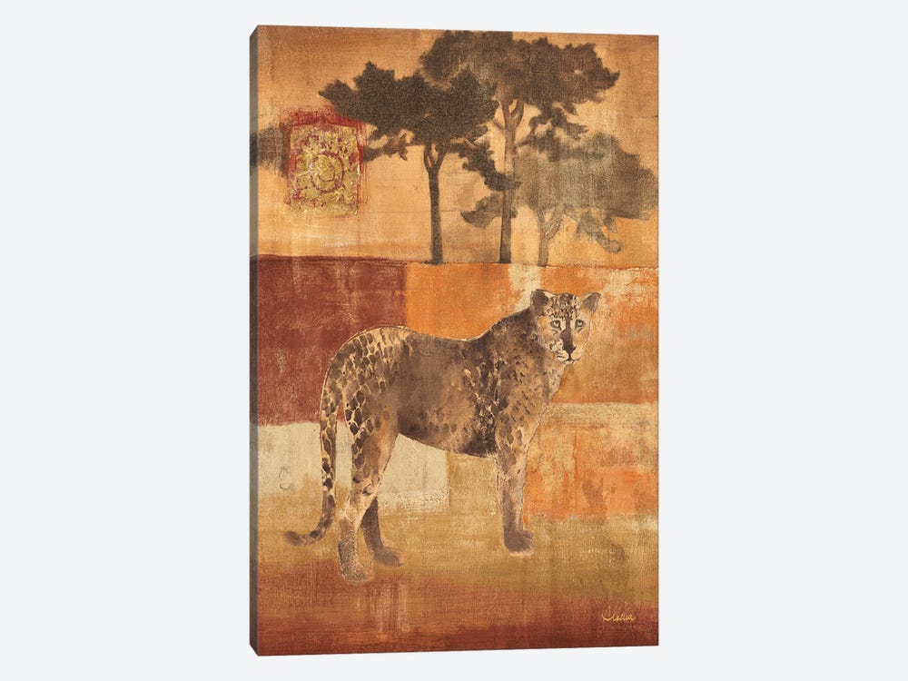 Animals on Safari III by Albena Hristova 1-piece Canvas Art Print