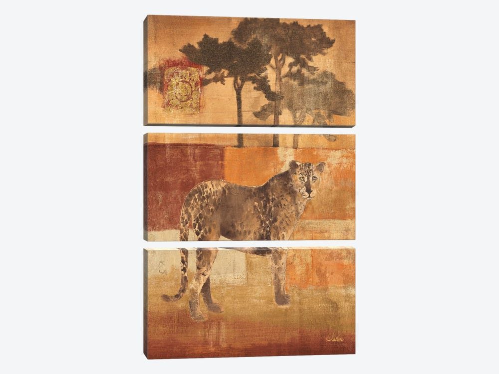 Animals on Safari III by Albena Hristova 3-piece Canvas Art Print