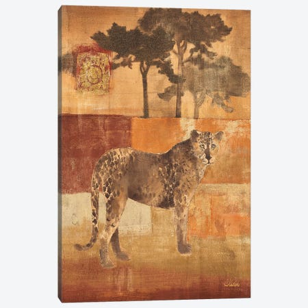Animals on Safari III Canvas Print #WAC29} by Albena Hristova Canvas Print