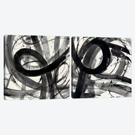 Roller Coaster Diptych Canvas Print Set #WAC2HSET009} by Albena Hristova Canvas Artwork