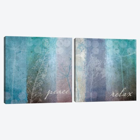 Ethereal Inspirational Diptych Canvas Print Set #WAC2HSET032} by Wild Apple Portfolio Art Print