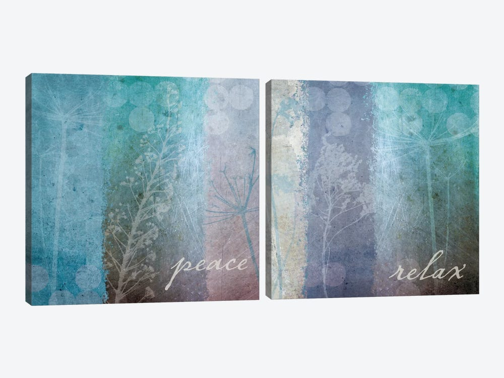 Ethereal Inspirational Diptych by Wild Apple Portfolio 2-piece Canvas Wall Art