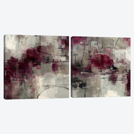 Stone Gardens Diptych Canvas Print Set #WAC2HSET033} by Silvia Vassileva Canvas Art Print