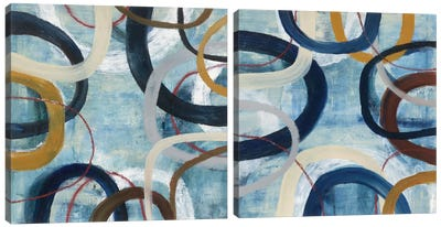 Dwell Diptych Canvas Art Print