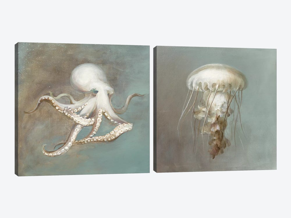 Teasures from the Sea DIptych by Danhui Nai 2-piece Art Print