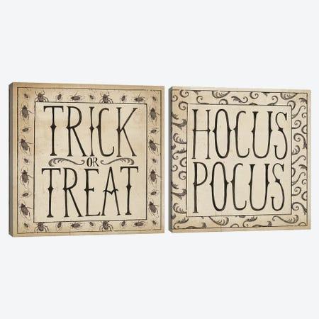 Hocus Pocus Diptych Canvas Print Set #WAC2HSET049} by Sara Zieve Miller Canvas Art