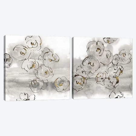 Gold Dust Diptych Canvas Print Set #WAC2HSET057} by Chris Paschke Canvas Art