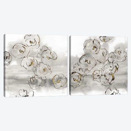 Gold Dust Diptych Canvas Print Set #WAC2HSET057} by Chris Paschke Canvas Art