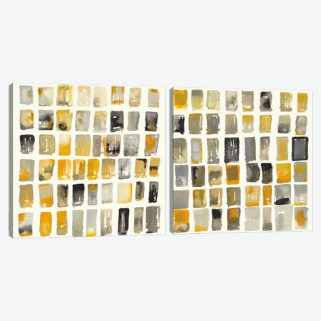 City Windows Diptych Canvas Print Set #WAC2HSET078} by Shirley Novak Canvas Art Print