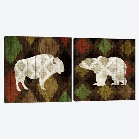 Southwest Lodge Diptych Canvas Print Set #WAC2HSET084} by Michael Mullan Canvas Art Print
