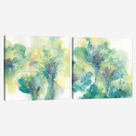 Garden Diptych Canvas Print Set #WAC2HSET086} by Chris Paschke Art Print