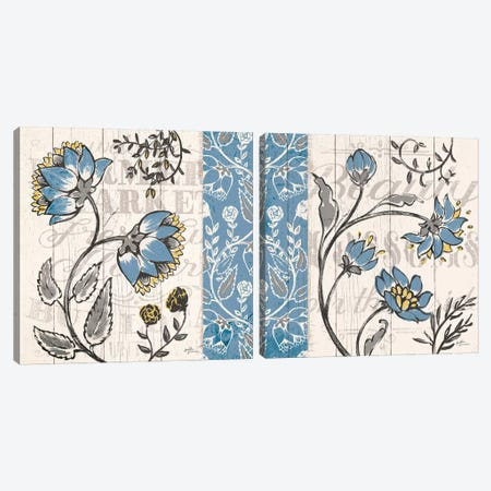 Blooming Season Diptych Canvas Print Set #WAC2HSET088} by Janelle Penner Canvas Wall Art