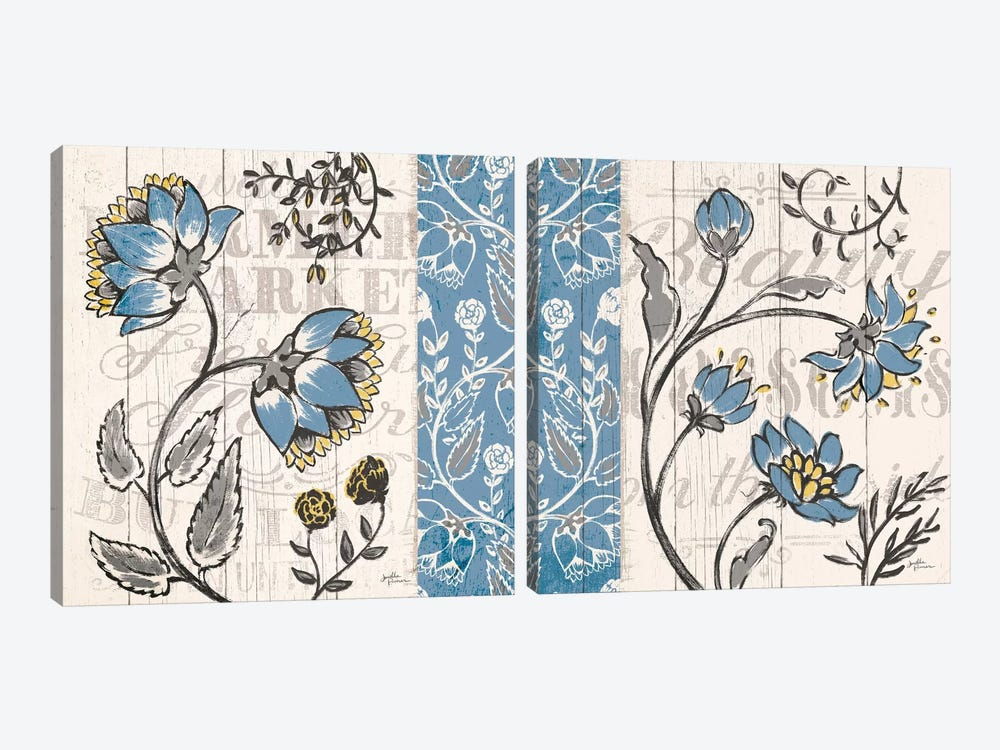Blooming Season Diptych by Janelle Penner 2-piece Art Print