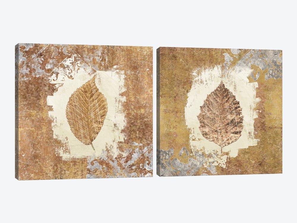 Gilded Leaf I Diptych by Avery Tillmon 2-piece Art Print