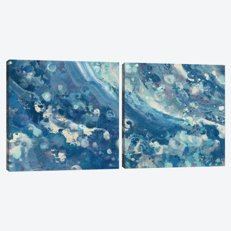Water Diptych Canvas Print Set #WAC2HSET093} by Albena Hristova Art Print