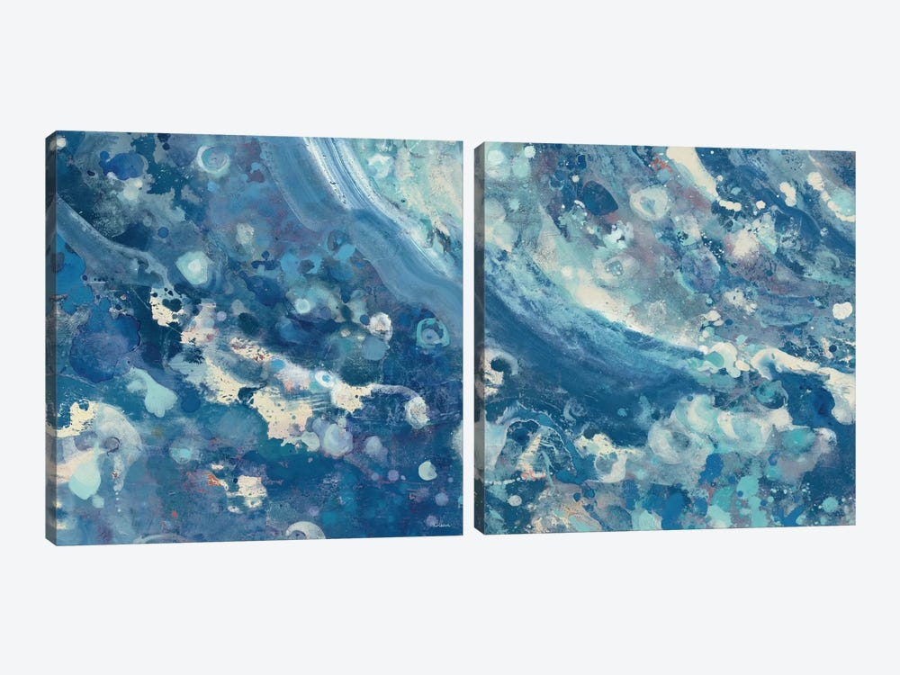 Water Diptych by Albena Hristova 2-piece Canvas Art Print