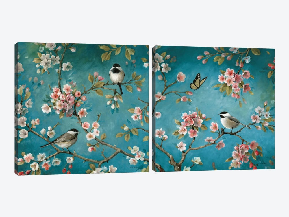 Blossom Diptych by Lisa Audit 2-piece Canvas Art Print