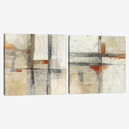 Aerial View Diptych Canvas Print Set #WAC2HSET120} by Mike Schick Canvas Art Print