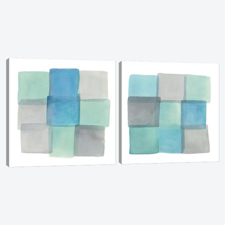 Overlap Diptych Canvas Print Set #WAC2HSET121} by Mike Schick Canvas Print