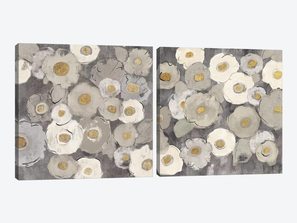 Bohemian Bouquet Diptych by Silvia Vassileva 2-piece Canvas Wall Art