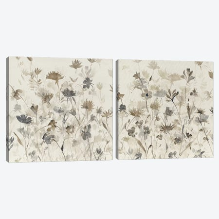 Garden Shadows Diptych Canvas Print Set #WAC2HSET130} by Avery Tillmon Canvas Artwork