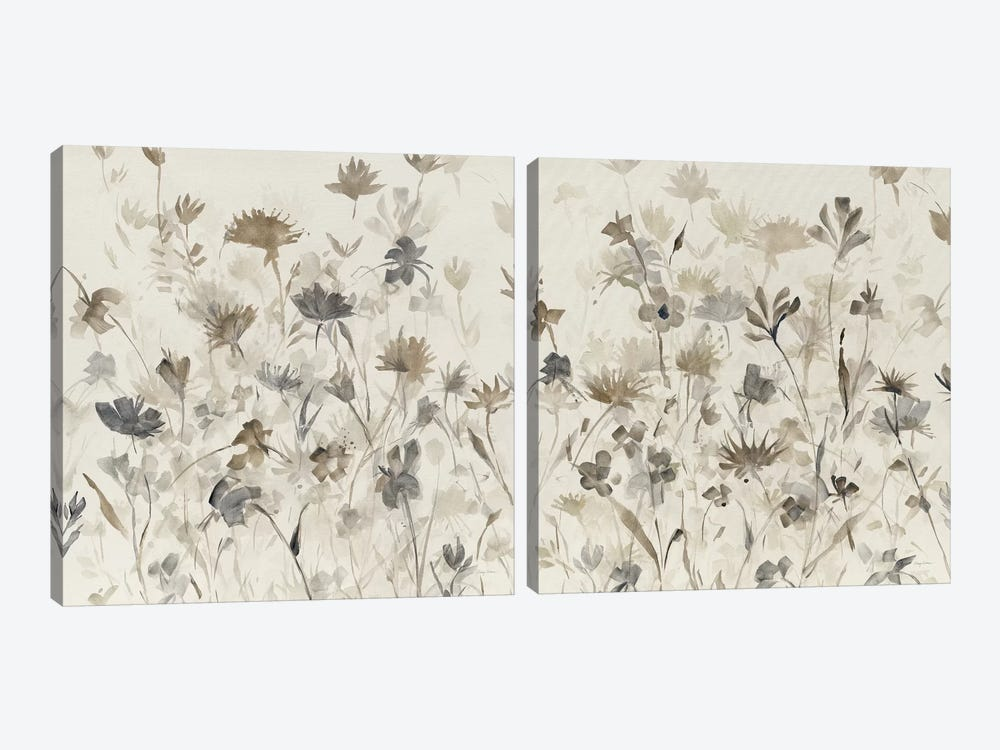 Garden Shadows Diptych by Avery Tillmon 2-piece Canvas Print
