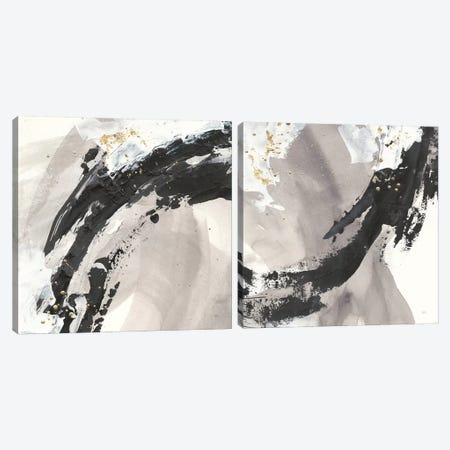 Galaxy Diptych Canvas Print Set #WAC2HSET144} by Anne Tavoletti Canvas Wall Art