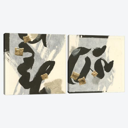 Collage Diptych Canvas Print Set #WAC2HSET146} by Anne Tavoletti Canvas Art