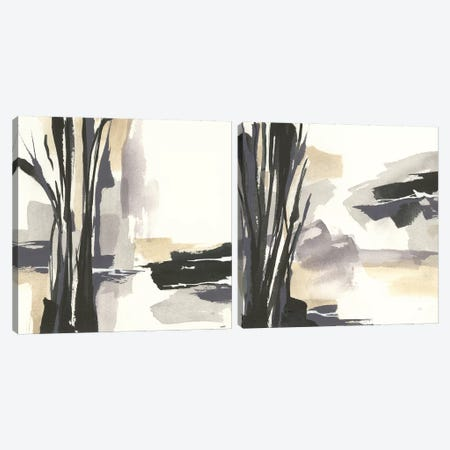 Placid Diptych Canvas Print Set #WAC2HSET147} by Chris Paschke Canvas Wall Art