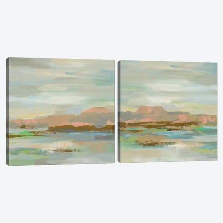 Spring Desert Diptych Canvas Print Set #WAC2HSET148} by Silvia Vassileva Canvas Print