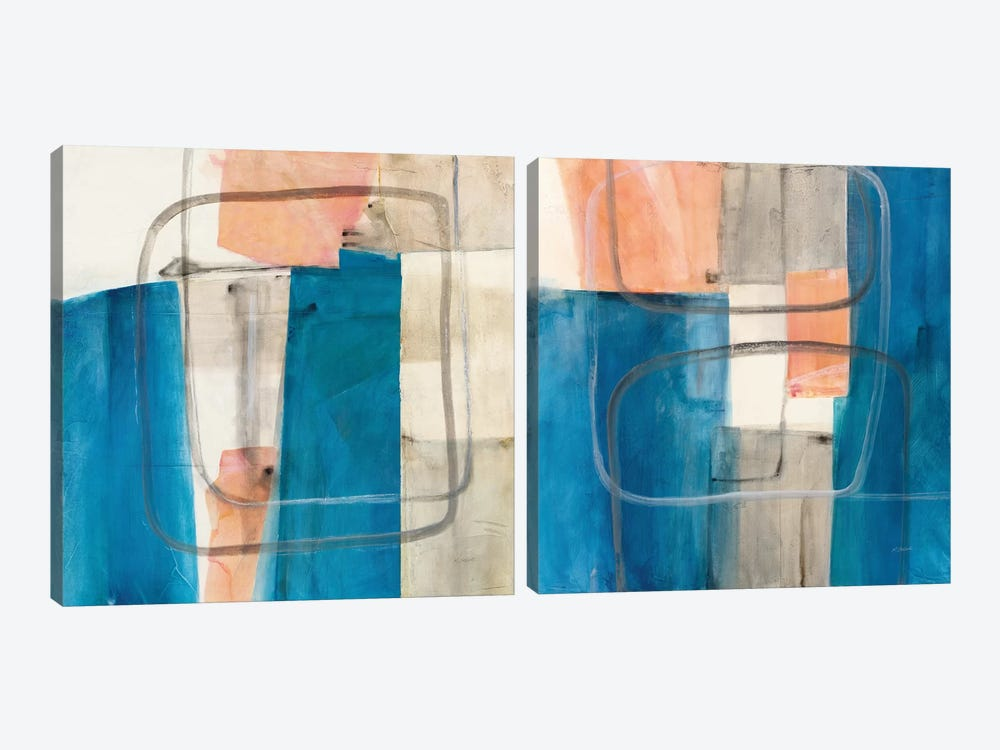 Passage Diptych by Mike Schick 2-piece Canvas Wall Art