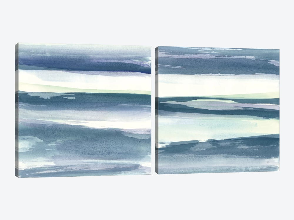 Mint Dawn Diptych by Chris Paschke 2-piece Canvas Art