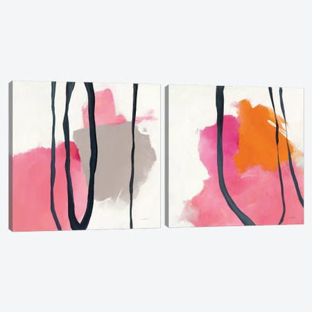 Somersault Diptych Canvas Print Set #WAC2HSET157} by Mike Schick Canvas Art Print