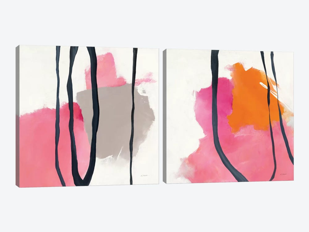 Somersault Diptych 2-piece Canvas Art