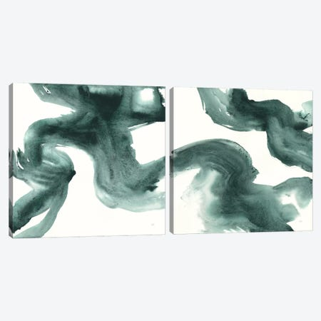 Jasper Wash Diptych Canvas Print Set #WAC2HSET158} by Chris Paschke Canvas Artwork