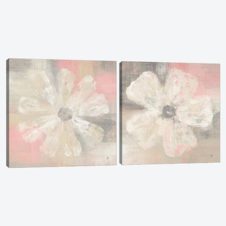 Nimbus Bloom Diptych Canvas Print Set #WAC2HSET161} by Studio Mousseau Art Print