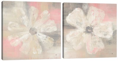 Nimbus Bloom Diptych Canvas Art Print