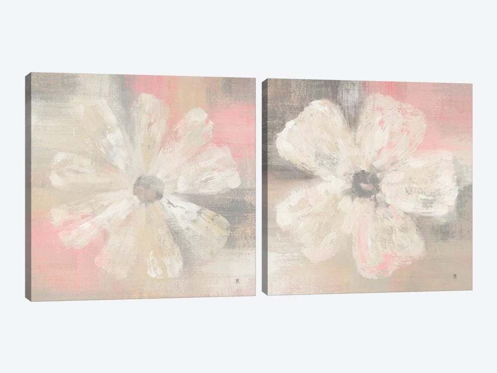 Nimbus Bloom Diptych by Studio Mousseau 2-piece Canvas Art Print