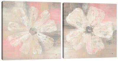 Nimbus Bloom Diptych Canvas Art Print