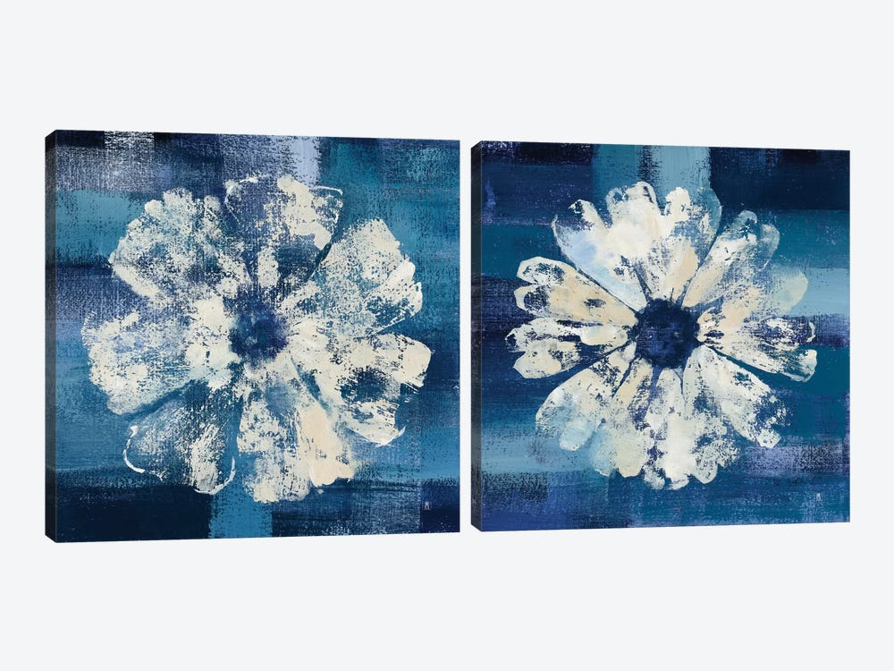Ocean Bloom Diptych by Studio Mousseau 2-piece Canvas Wall Art